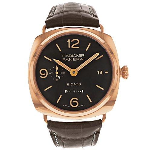 PAM00395 Panerai Radiomir GMT Oro 8 Tage Automatische Men's Watch Rosso