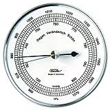 Fischer 528201 Aneroid Barometer, silber