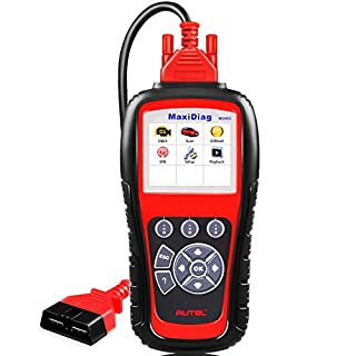Autel MaxiDiag MD805 (Upgraded Version of MD802 Maxidiag Elite Full System) Code Reader OBD2 Diagnostic Tool Support OLS/EPB/transmission/Airbag +CAN OBDII better than MD802
