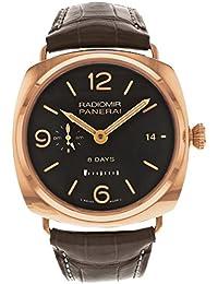 amazon co uk panerai watches panerai pam00395 radiomir 8 days gmt oro rosso men s watch