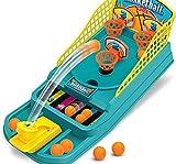 Vi.yo Tabletop Mini Basketball Schießen Spiel Finger Katapult Basketball Court Desktop Spiel kinder Gehirn Entwicklung Spielzeug Set, 30 * 13 * 5 cm