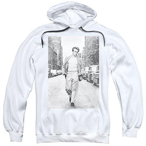 Dean-Walk The Walk-Felpa con cappuccio da uomo Bianco