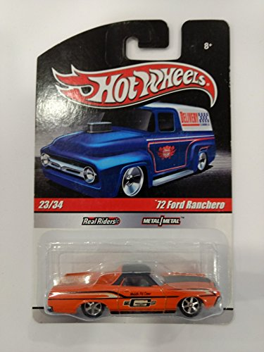 Hot Wheels '72 Ford Ranchero - Real Riders 23/24 (Long card)
