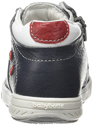 babybotte - Abriko, Pantofole a Stivaletto Bambino Grigio