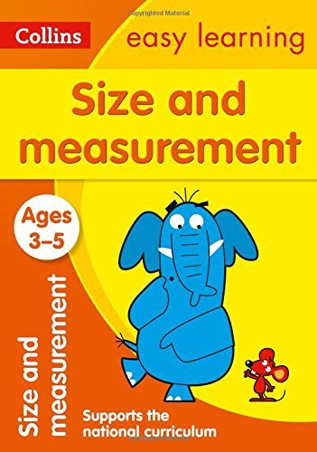 Collins Easy Learning Preschool a?? Size and Measurement Ages 3-5: New Edition by Collins UK (2016-03-18)
