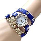Swadesi Stuff New Arrival Love Bracelet Blue Stylish Analog Watch - For Girls & Women