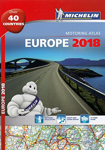 Europe 2018 - Tourist and Motoring Atlas (A4-Spiral) (Michelin Road Atlases) por Michelin