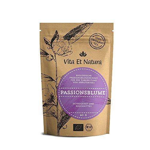 Vita Et Natura BIO Passionsblumenkraut - Beruhigungstee - 60g loser Tee