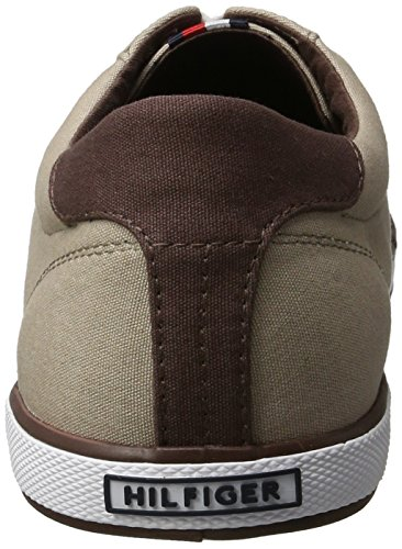 Tommy Hilfiger H2285ARLOW 1D, Sneakers basses homme Beige (Cobblestone 068)