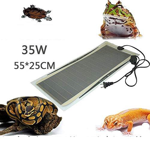 ZDJR Reptile Tank Heater Pad, hält die Wärme im Tierbereich optimal und hält kaltblütige Haustiere gesund,35W