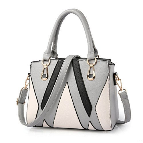 Damen Tasche Flut Handtasche Großhandel koreanische wilde Umhängetasche Handtasche Messenger Bag gray white