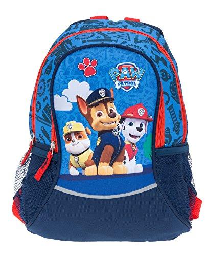 Kinderrucksack Fabrizio Paw Patrol Chase Blau 20562-5000 Rucksack für Jungen + Eisbär (Chase Blau 5000)