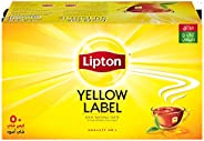 Lipton Yellow Label Black Tea, 50 Teabags