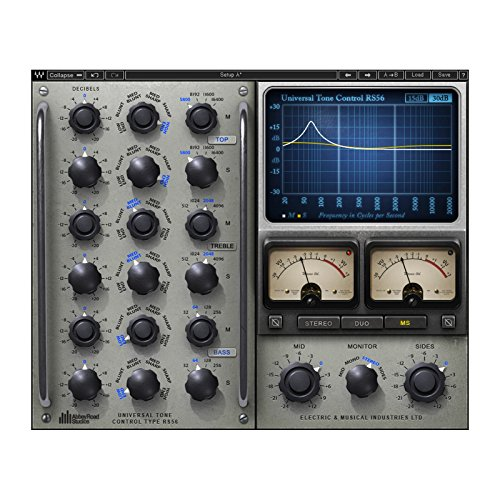 Waves RS56 Passiver EQ 3 Band Plugin Software nur Download