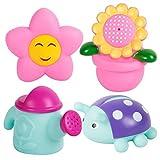 Juguetes de baño, Chickwin 4pcs Bebé Baño Colorido Squirters Baño Assorted Kids Play Agua Piscina Tub Toy