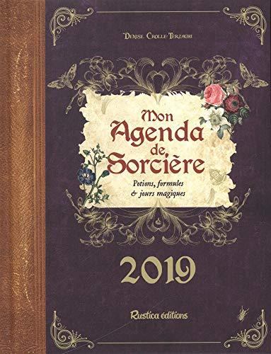 Mon agenda de sorcière 2019 par Denise Crolle-Terzaghi