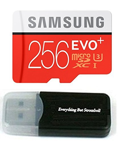 256GB Samsung Evo Plus Micro SD XC Class 10 UHS-1 256G Memory Card for Samsung Galaxy S8