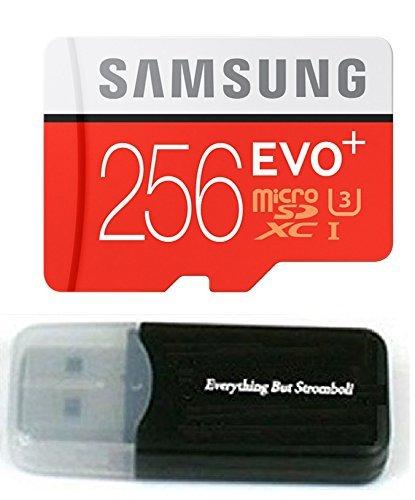 256GB Samsung Evo Plus Micro SD XC Clase 10UHS-1256G tarjeta de memoria para Samsung Galaxy S8, S8+, S7, S7Edge teléfono celular con todo lo pero Stromboli lector de tarjetas (mb-mc256da/AM)