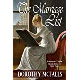 The Marriage List by Dorothy McFalls (2014-02-25)
