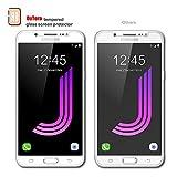 [3 Stück] Samsung Galaxy J7 2016 Panzerglas Displayschutzfolie, Outera Gehärtetem Glas Schutzfolie Hartglas Schutzglas für Samsung Galaxy J7 2016 - 6