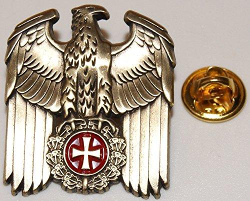 ADLER EK goldfarben Militäry Militaria l Anstecker l Abzeichen l Pin 348 A