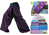 Die besten Thailand Mens Yoga Pants - 2Ton Thai Fisherman Hose Yoga Hosen gratis Größe Bewertungen