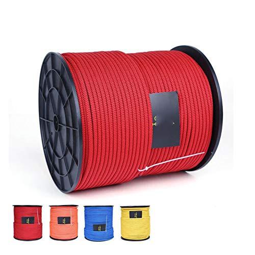 (GYHHHM Seil, 6 mm Starkes Rettungsseil, für Fitnessstudio, Kletterseil, Sicherheitsseil)