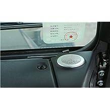 Para Land Rover Defender 11020152016para Jaguar XE/XF salpicadero Circular altavoz de coche adhesivo accesorios