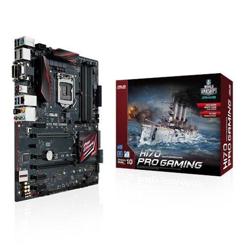 Asus H170 Pro Gaming Mainboard Sockel 1151 (ATX, Intel H170, DDR4-Speicher, USB 3.1, M.2 Schnittstelle)