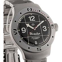 Vostok 060488de anfibios Militar ruso buceo reloj 2416b 200M Auto