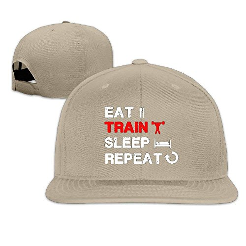 6ee070a27c1b WIOPZ Fashion Baseball Caps Hats Men s Eat Train Sleep Repeat Gym Tank  Fitness Apparel Adjustable Cap