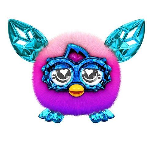 Furby Furblings Creatura Speciale Caratteristica Peluche (Rosa/Viola)