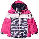 CMP Mädchen Wattierte 5000 Twill Skijacke Jacke, Asphalt-Strawberry, 140