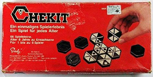 Chekit, The Hexagonal Domino and Strategy Game (1986)