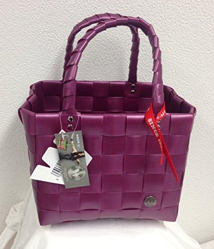 5008-610U ICE-BAG Mini-Shopper Witzgall Original Einkaufskorb uni lila