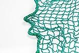 Containernetz, Anhängernetz, PKW-Netz, Abdecknetz, 2,5 x 3,5 m, grün, 30 mm