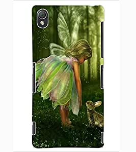 ColourCraft Baby Angel Design Back Case Cover for SONY XPERIA Z3