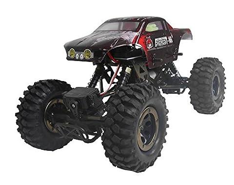 Redcat Racing Everest-16 elektrischer Rock Crawler mit 2,4 Ghz, Fernsteuerung (1/16 Skala), Rot