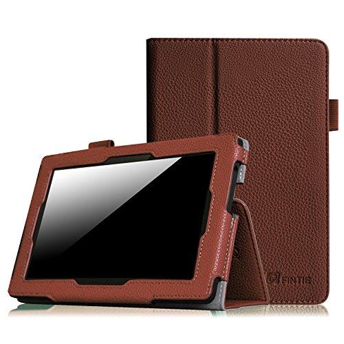 Fintie Etui Amazon All-New Kindle Fire HD 7 - Folio Case étui Housse Avec couverture intelligente réveil/sommeil automatique pour Amazon Kindle Fire HD 7 (3ème génération - modèle 2013), Bleu Encre Marron