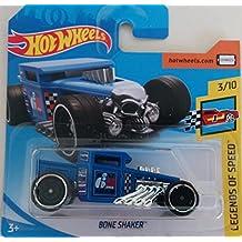 Hot Wheels 2018 Bone Shaker Blue 3/10 Legends of Speed
