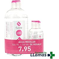 AGUA MICELAR FARLINE PACK 500ML + 100ML DE REGALO