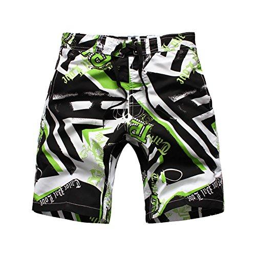 LAPLBEKE Jungen Badehose Boardshorts Schnelltrockend Strandshorts Urlaub Shorts (Boardshorts Jungs)