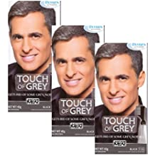 3 x Just For Men Touch of Grey Black/Grey (T-55) 42g