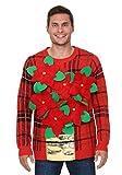 Unisex Weihnachtsstern Pullover