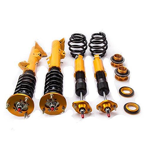Gowe Gewindefahrwerk Coil für BMW E363Serie 316318323325328M392-97Strebe Adj. Gewindefahrwerks Gewindefahrwerk Coil Streben Stoßdämpfer Street Golden