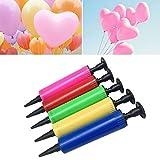 Broadroot Tragbare Mini Kunststoff Manuelle Ballonpumpe Luftballons Hand Drücken Luftfüller Party Festival Feier Werkzeuge