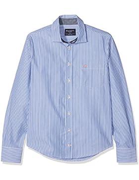 Hackett London Bengal Stripe Shirt Y, Blusa para Niños