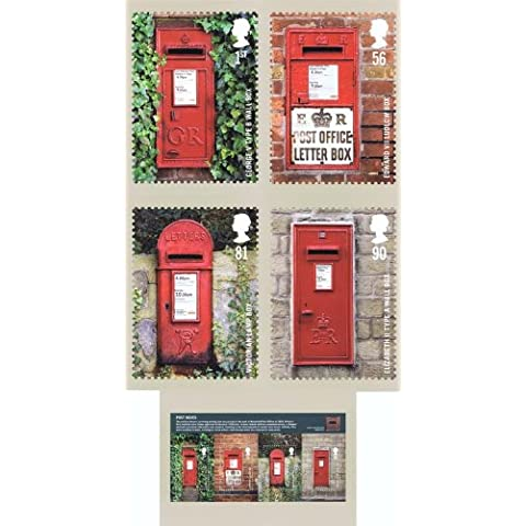 Post boxes PHQ n. 326, set completo, colore: Verde menta