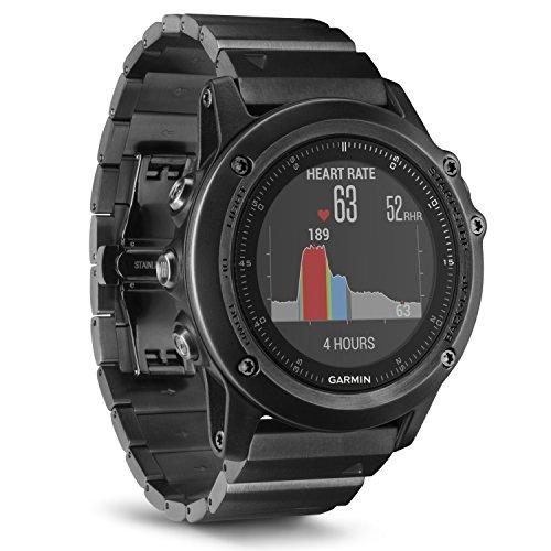 fenix 3 performer bundle Garmin f?nix 3 HR Saphir GPS-Multisportuhr - mit Armband aus Edelstahl, Herzfrequenzmessung am Handgelenk, zahlreiche Sport- & Navigationsfunktionen