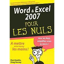 Word & Excel 2007 MegaPoche Pour les Nuls